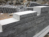 www.aplusstone.vn - BASALT VIETNAM - Basalt walls / bricks - Vietnam basalt
